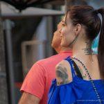Тату надпись УМЕРЕННОСТЬ на лице и шее девушки – 17.09.2020 – tatufoto.com 9