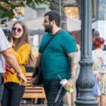 Тату надпись SEE THE LIGHT на правой руке парня – Уличная татуировка (street tattoo)-29.09.2020-tatufoto.com 1