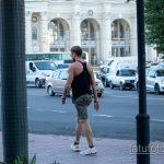 Тату надпись UNIVERSUM на руке мужчины - Уличная татуировка 14.09.2020 – tatufoto.com 1