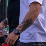 Тату орел на левой руке парня – Уличная татуировка (street tattoo)-29.09.2020-tatufoto.com 3