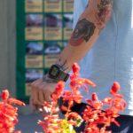 Тату оскал пантеры на руке парня --Уличная тату-street tattoo-21.09.2020-tatufoto.com 4