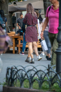 Тату пальма внизу на левой ноге девушки – Уличная татуировка (street tattoo)-29.09.2020-tatufoto.com 3