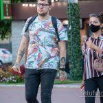 Тату портрет девушки и покемон Пикачу на руке парня - Уличная татуировка 14.09.2020 – tatufoto.com 4