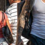 Тату рукав со львом компасом и глобусом на руке парня --Уличная тату-street tattoo-21.09.2020-tatufoto.com 4