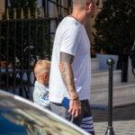 Тату рукав с фениксом молниями и портретом святого на руке мужчины – Уличная татуировка (street tattoo)-29.09.2020-tatufoto.com 1