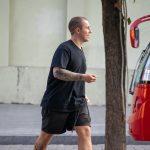 Тату рукав с цветами и пальмой на руке мужчины --Уличная тату-street tattoo-21.09.2020-tatufoto.com 4