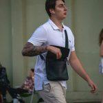 Тату рукав у парня с белым голубем часами и цветами роз --Уличная тату-street tattoo-21.09.2020-tatufoto.com 3