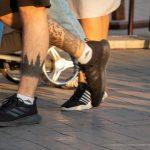 Тату силуэт леса и узоры внизу ноги парня – 17.09.2020 – tatufoto.com 4