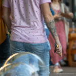 Тату с лысой египетской кошкой на руке парня – Уличная татуировка (street tattoo)-29.09.2020-tatufoto.com 7