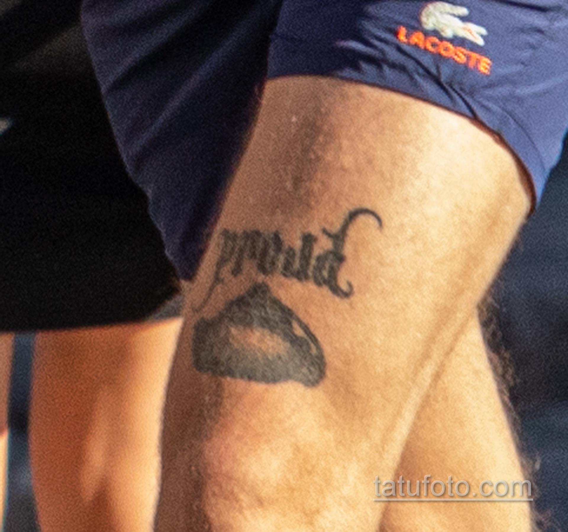 Тату с ножами на изгибе руки парня – Уличная татуировка 14.09.2020 – tatufoto.com 3