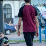 Тату с нотами и радужными красками на запястье парня - Уличная татуировка 14.09.2020 – tatufoto.com 4