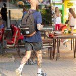 Тату с портретами инопланетной женщины внизу ноги парня – 17.09.2020 – tatufoto.com 3