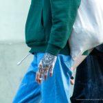 Тату с серпом на лице парня и надпись NESS с мордой дьявола на руке – 17.09.2020 – tatufoto.com 8