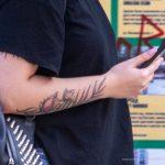 Тату с цветами на руках девушек -Уличная тату-street tattoo-21.09.2020-tatufoto.com 3