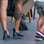 Тату узор и крест внизу ноги мужчины --Уличная тату-street tattoo-21.09.2020-tatufoto.com 2