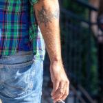 Тату штурвал и канат на правой руке мужчины – Уличная татуировка (street tattoo)-29.09.2020-tatufoto.com 4