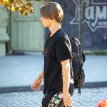 Тату 2 точки и кавычка смайлом на руке парня – Уличная татуировка (street tattoo)-29.09.2020-tatufoto.com 1