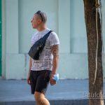 Трайбл узоры в тату на левой руке мужчины – Уличная татуировка 14.09.2020 – tatufoto.com 6