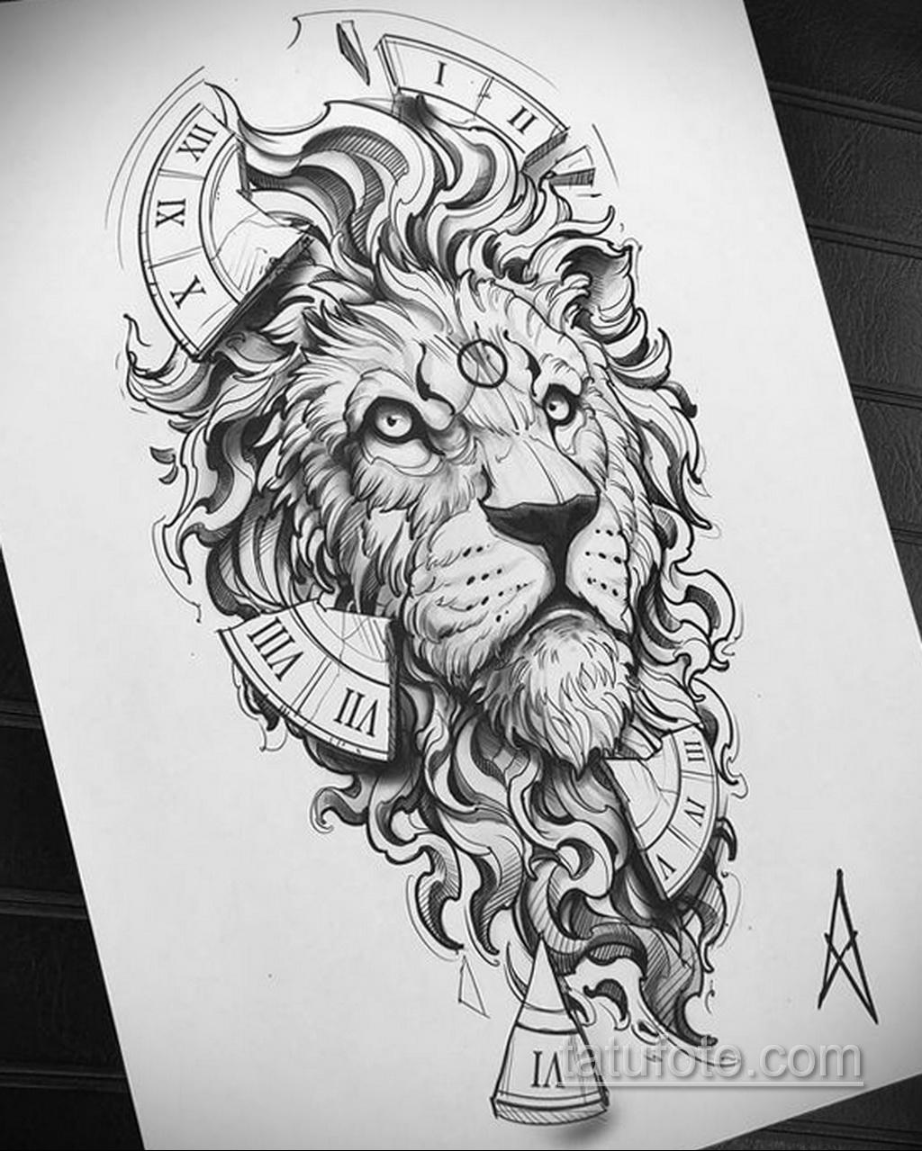 Фото пример классного эскиза для тату 05.09.2020 №002 -tattoo sketch- tatufoto.com