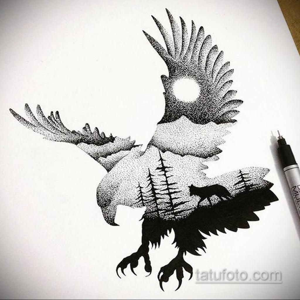 Фото пример классного эскиза для тату 05.09.2020 №003 -tattoo sketch- tatufoto.com
