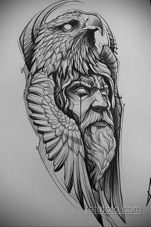 Фото пример классного эскиза для тату 05.09.2020 №018 -tattoo sketch- tatufoto.com