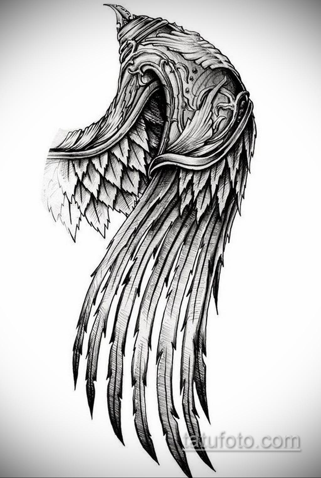 Фото пример классного эскиза для тату 05.09.2020 №022 -tattoo sketch- tatufoto.com