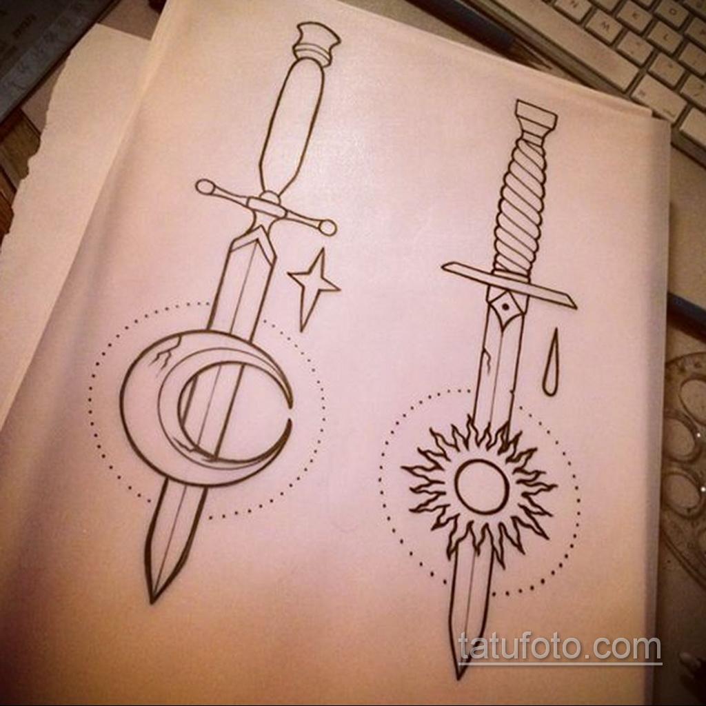 Фото пример классного эскиза для тату 05.09.2020 №023 -tattoo sketch- tatufoto.com