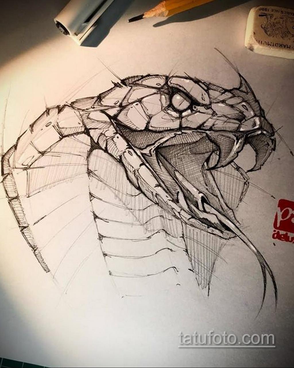 Фото пример классного эскиза для тату 05.09.2020 №032 -tattoo sketch- tatufoto.com