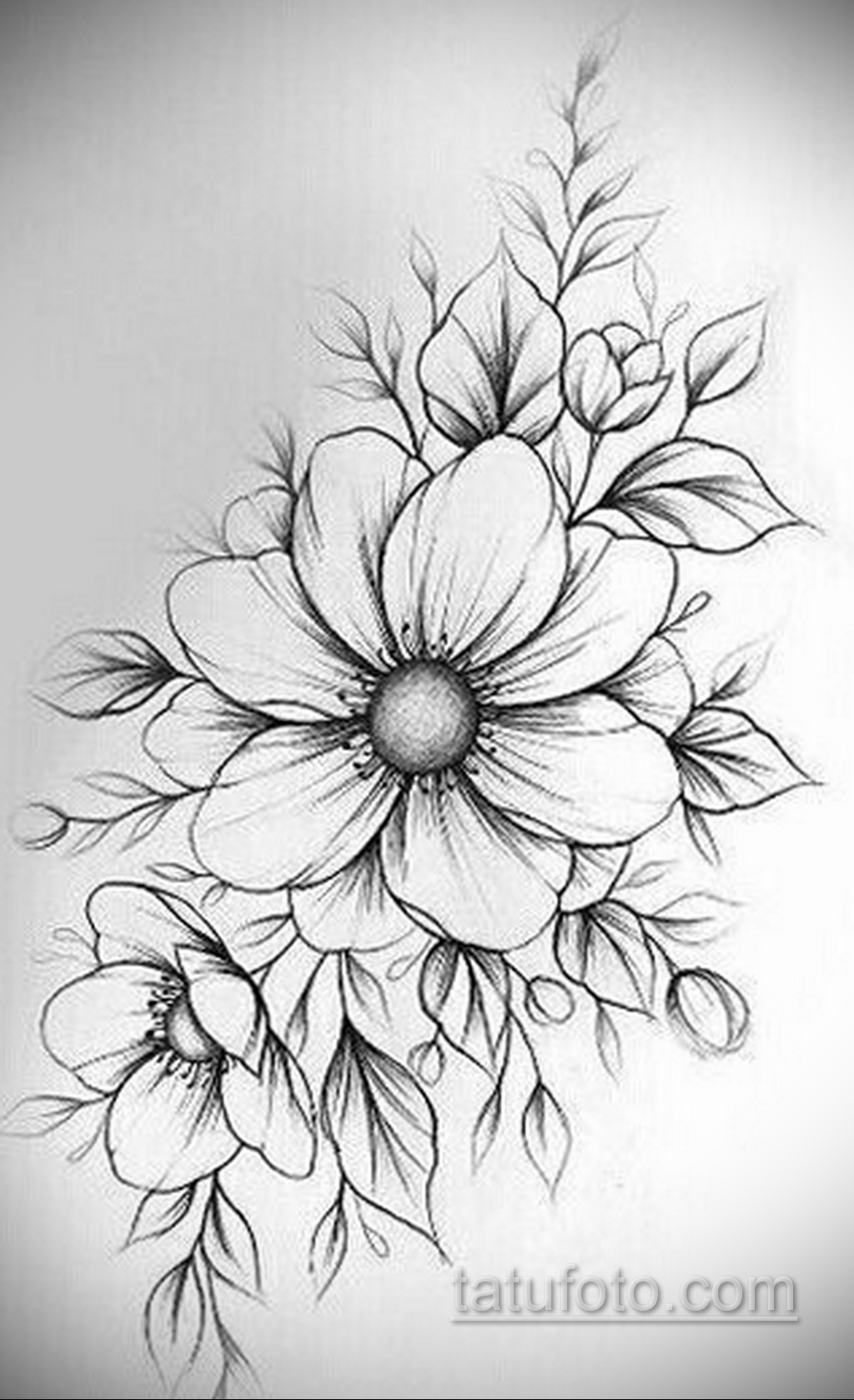 Фото пример классного эскиза для тату 05.09.2020 №034 -tattoo sketch- tatufoto.com
