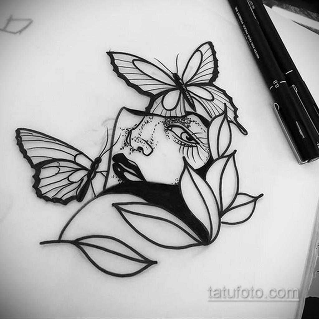 Фото пример классного эскиза для тату 05.09.2020 №040 -tattoo sketch- tatufoto.com
