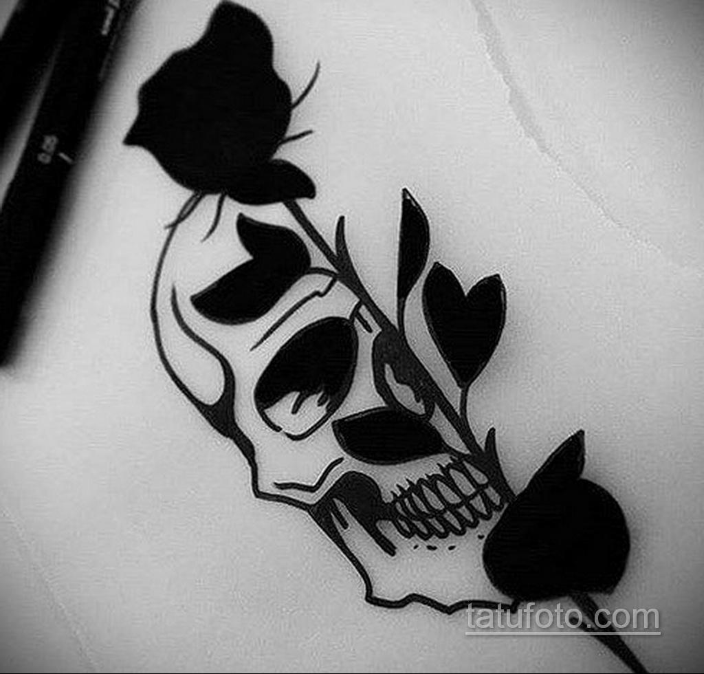 Фото пример классного эскиза для тату 05.09.2020 №041 -tattoo sketch- tatufoto.com