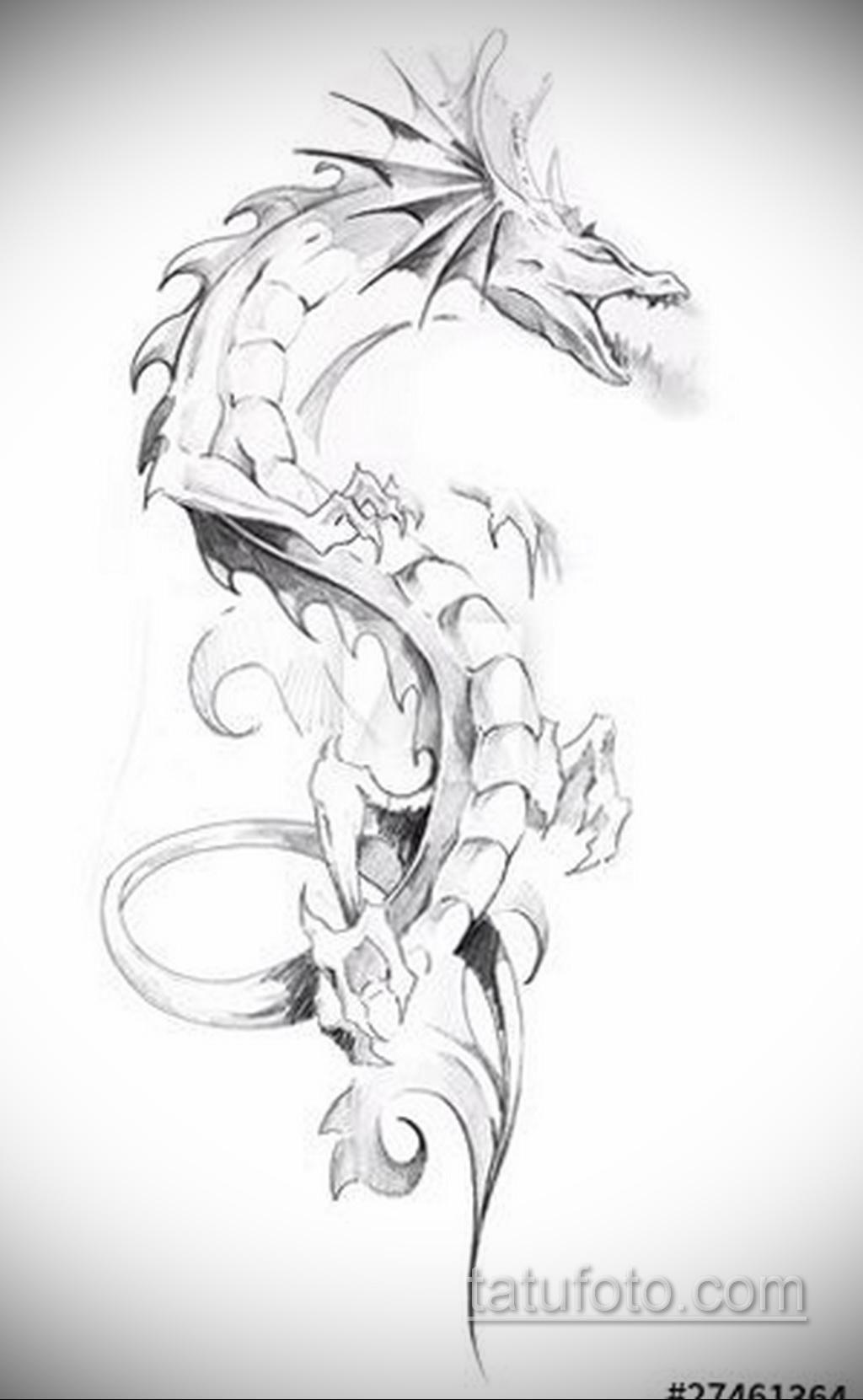 Фото пример классного эскиза для тату 05.09.2020 №057 -tattoo sketch- tatufoto.com