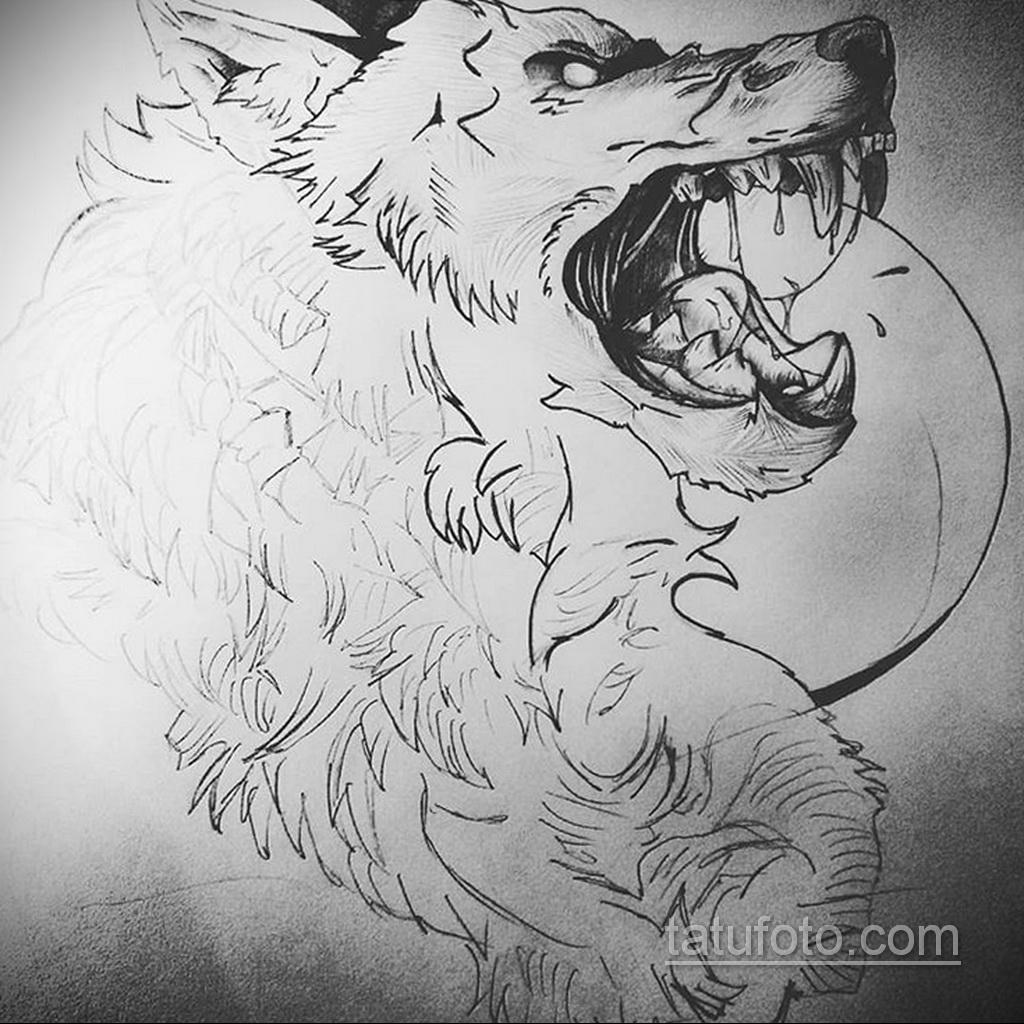 Фото пример классного эскиза для тату 05.09.2020 №065 -tattoo sketch- tatufoto.com