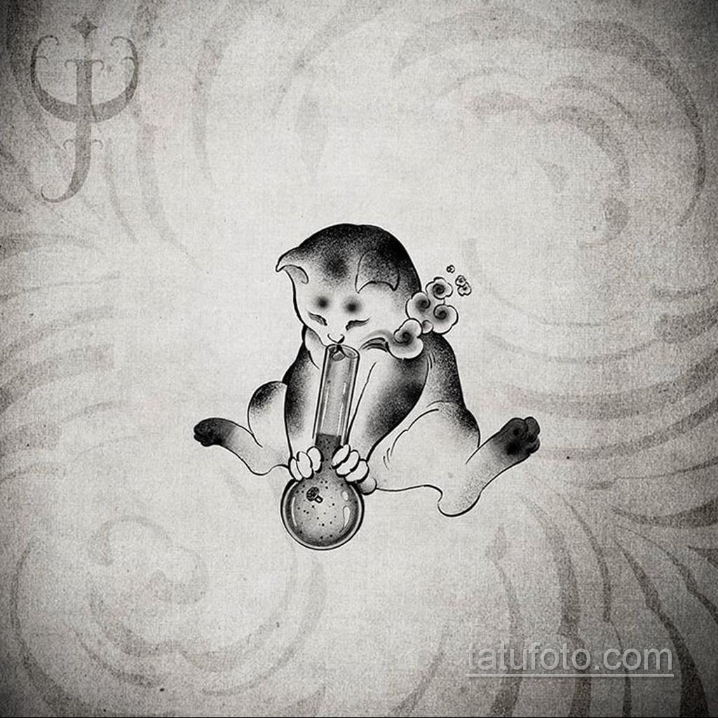 Фото пример классного эскиза для тату 05.09.2020 №082 -tattoo sketch- tatufoto.com