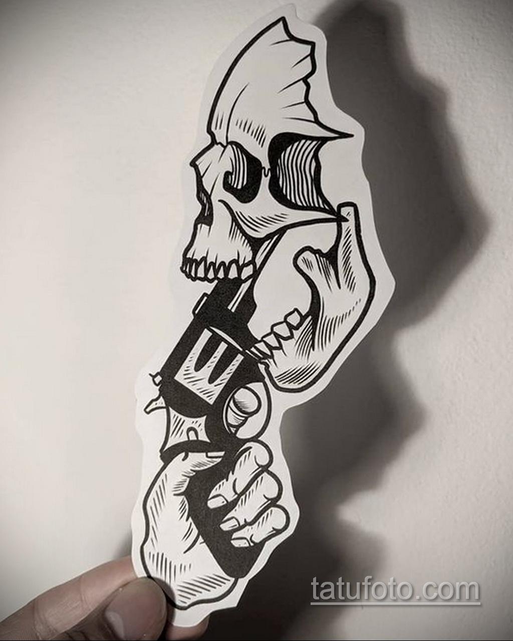 Фото пример классного эскиза для тату 05.09.2020 №124 -tattoo sketch- tatufoto.com