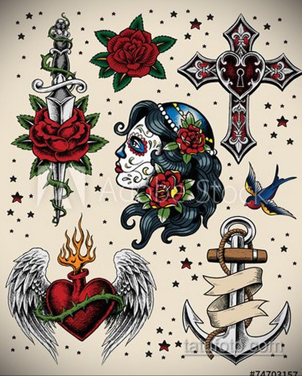 Фото пример классного эскиза для тату 05.09.2020 №126 -tattoo sketch- tatufoto.com