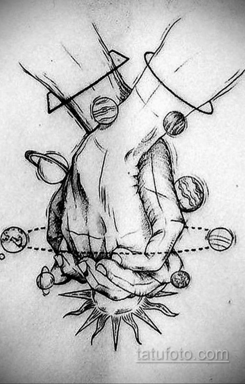 Фото пример классного эскиза для тату 05.09.2020 №160 -tattoo sketch- tatufoto.com