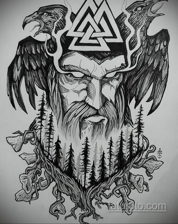 Фото пример классного эскиза для тату 05.09.2020 №167 -tattoo sketch- tatufoto.com
