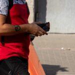 Фрагмент татуировки с символом ОМ на правой руке мужчины – 17.09.2020 – tatufoto.com 2