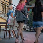 Цветастая татуировка с киской внизу ноги девушки – Уличная татуировка 14.09.2020 – tatufoto.com 8