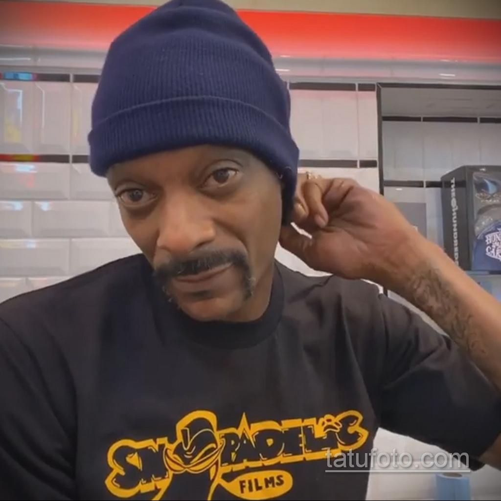 Новая татуировка репера Снуп Догга (Snoop Dogg) посвященная Лейкерс - фото 8