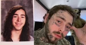 Пост Мэлоун – до и после нанесения татуировок 1