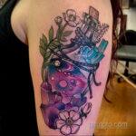 Рисунок татуировки с зельем - фото - tatufoto.com 2
