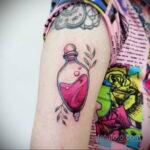 Рисунок татуировки с зельем - фото - tatufoto.com 3