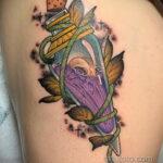Рисунок татуировки с зельем - фото - tatufoto.com 5