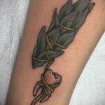 Рисунок татуировки с травами ведьм - фото тату - tatufoto.com 1