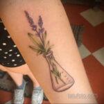Рисунок татуировки с травами ведьм - фото тату - tatufoto.com 3