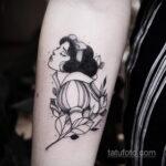 Татуировка с Белоснежкой - фото 1