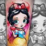 Татуировка с Белоснежкой - фото 5