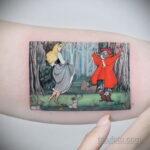 Татуировка с принцессой Авророй - фото 6